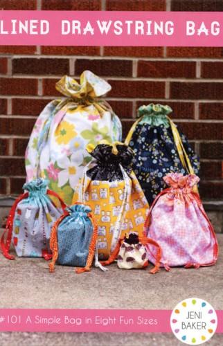 Jeni Baker Lined Drawstring Bag