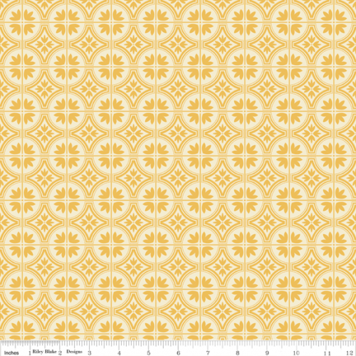 Riley Blake Serenata Tile Yellow