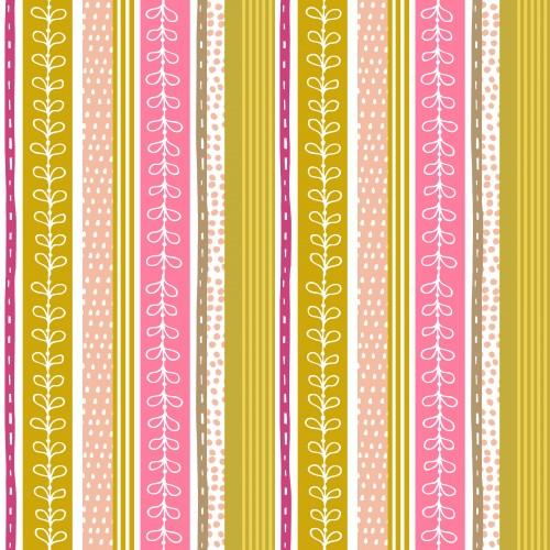 Retro Orchid Stripe