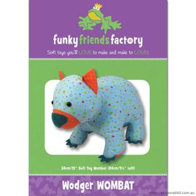 Wodger Wombat - funkey friends factory - Riley Blake
