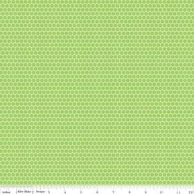 ladybug garden dots green