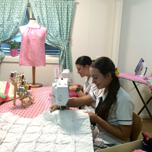 kids sewing lesson 2