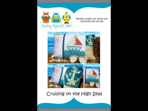 Cruising on the High Seas pillow cover