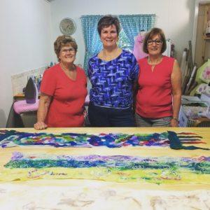 Lorraine Christine Chris felted scarf