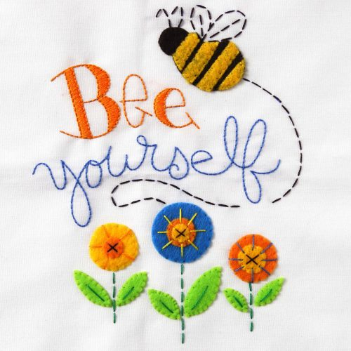 Bucilla Stamped Embroidery Kit - Bee Yourself