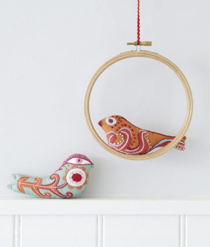 Little Stuffed Birds Embroidery Kit