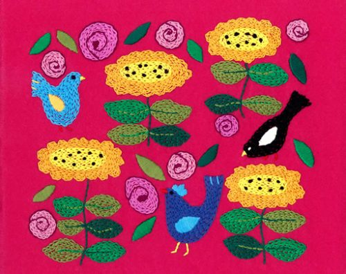 Birds-in-my-garden-Embroidery-on-Felt