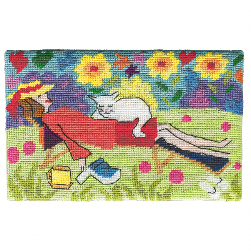 Jennifer-Pudney-Needlepoint-Cat-Nap