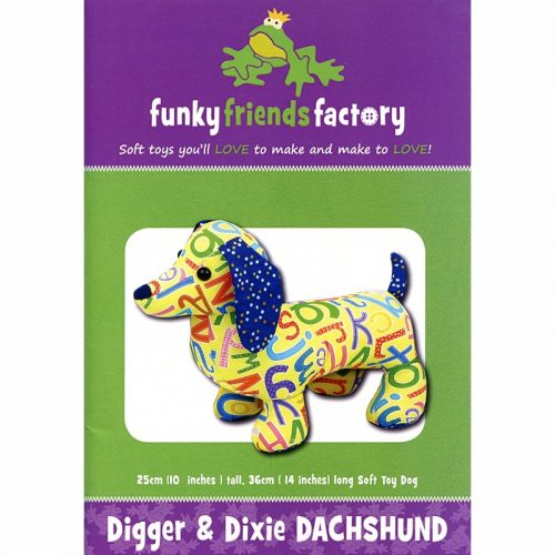 Funky Friends Factory Digger & Dixie Dachshund
