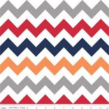 Riley Blake Medium Chevron Boy Laminate
