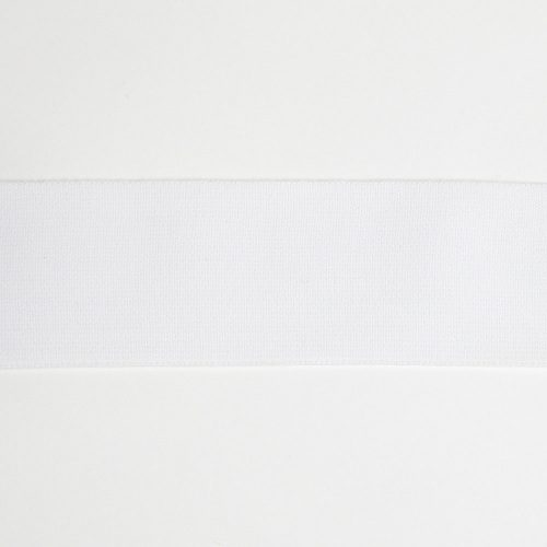Riley Blake 2in waistband elastic white