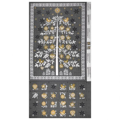 Scandi Tree Advent Calendar Grey