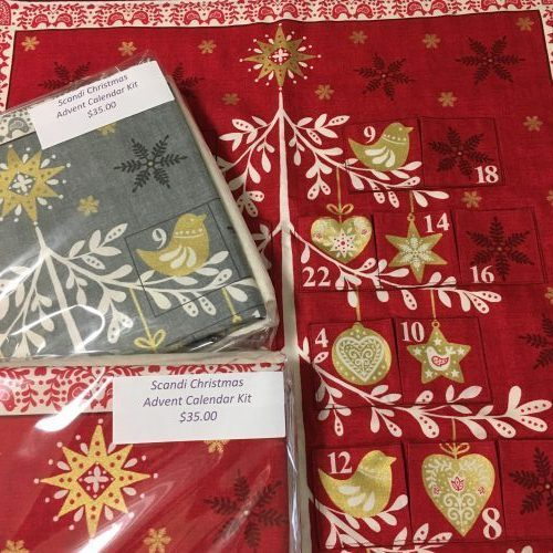 Christmas Advent Calendar Kits