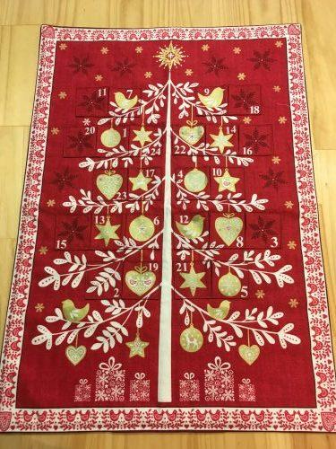 Scandi Christmas advent calendar