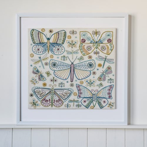 Butterfly Embroidery Kit #2