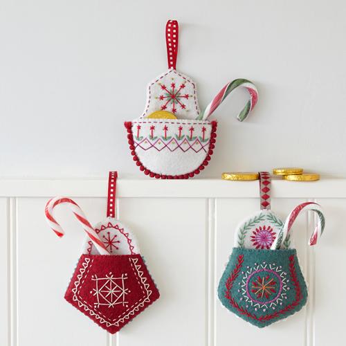 Christmas Pocket Embroidery Kit