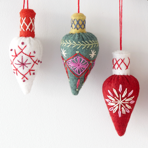Christmas cone bauble