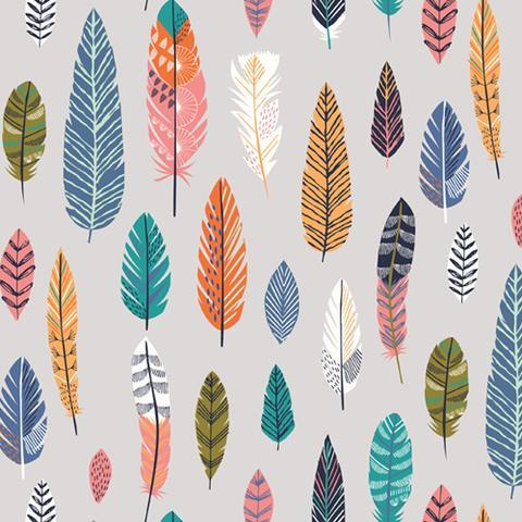 Boho Meadow feathers